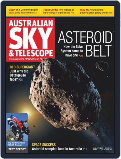 Australian Sky & Telescope Magazine (Digital) March 1st, 2021 Issue Cover