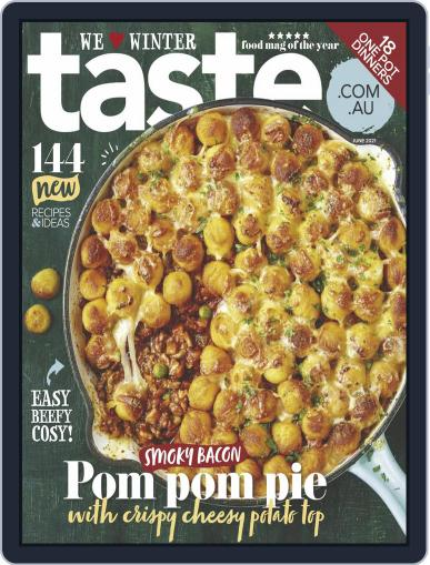 Taste.com.au Magazine (Digital) June 1st, 2021 Issue Cover