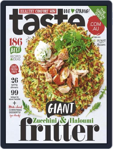 Taste.com.au Magazine (Digital) October 1st, 2021 Issue Cover