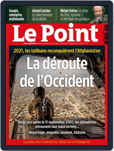 Le Point Magazine (Digital) July 22nd, 2021 Issue Cover