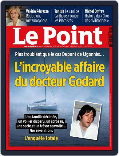 Le Point Magazine (Digital) July 29th, 2021 Issue Cover