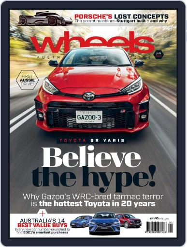 Wheels Magazine (Digital) January 1st, 2021 Issue Cover