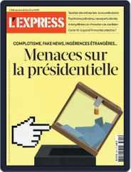 L'express Magazine (Digital) Subscription April 15th, 2021 Issue