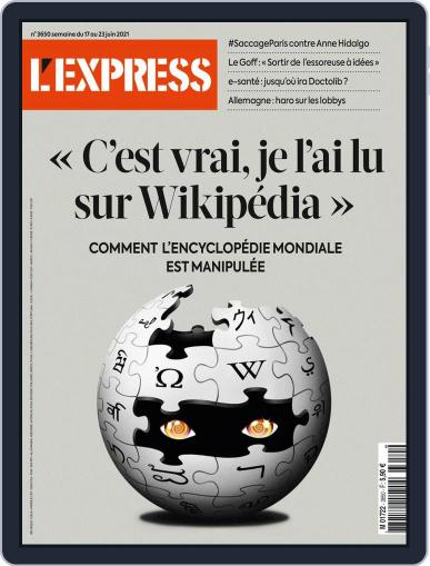 L'express Magazine (Digital) June 17th, 2021 Issue Cover