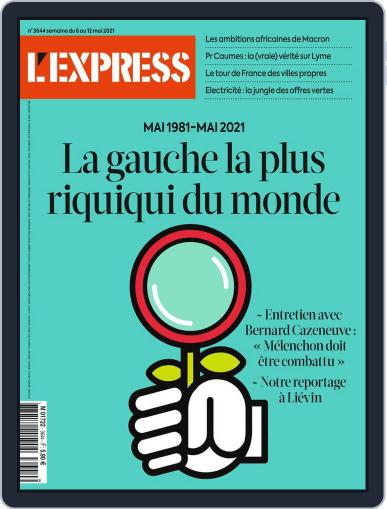 L'express Magazine (Digital) May 6th, 2021 Issue Cover