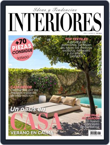 Interiores Magazine (Digital) July 1st, 2021 Issue Cover