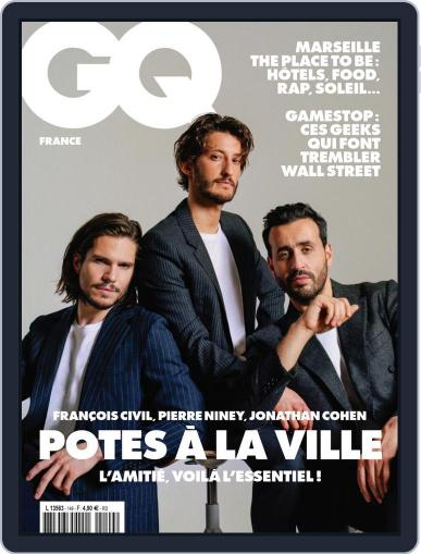Gq France Magazine (Digital) May 1st, 2021 Issue Cover