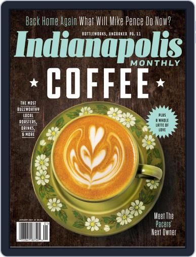Indianapolis Monthly Magazine (Digital) January 1st, 2021 Issue Cover