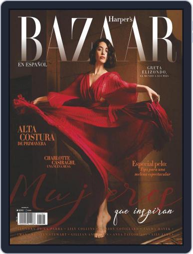 Harper's Bazaar México Magazine (Digital) March 1st, 2021 Issue Cover
