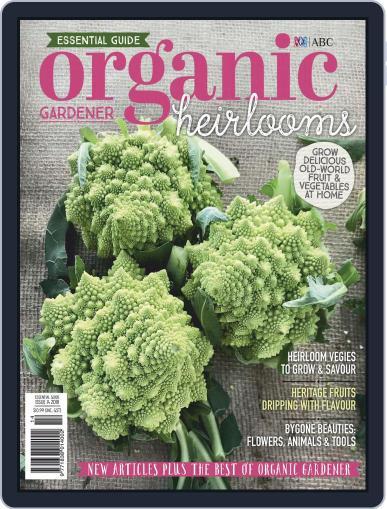 Abc Organic Gardener Magazine (Digital) September 1st, 2020 Issue Cover