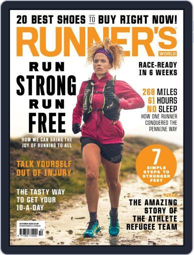 Runner's World UK Magazine (Digital) October 1st, 2020 Issue Cover