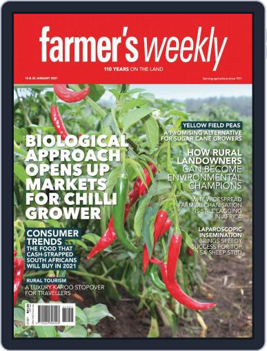 Farmer's Weekly Magazine (Digital) January 15th, 2021 Issue Cover