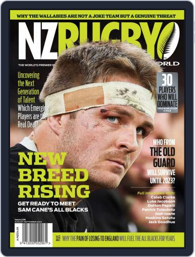 NZ Rugby World Magazine (Digital) August 1st, 2020 Issue Cover