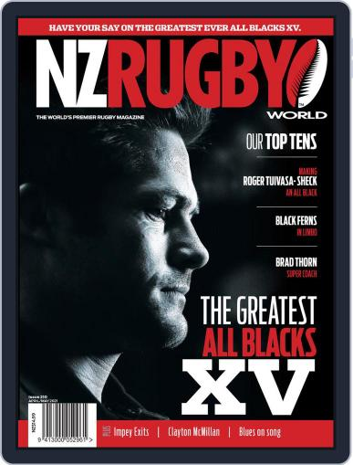 NZ Rugby World Magazine (Digital) April 1st, 2021 Issue Cover