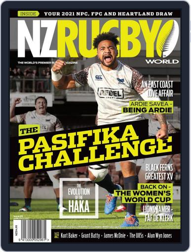 NZ Rugby World Magazine (Digital) June 1st, 2021 Issue Cover