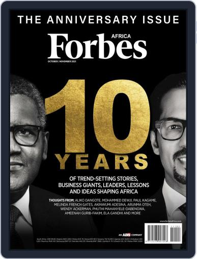 Forbes Africa Magazine (Digital) October 1st, 2021 Issue Cover
