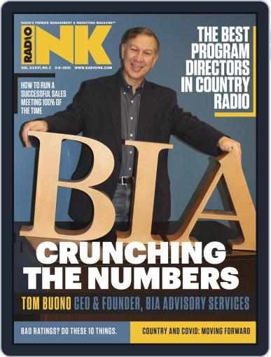 Radio Ink Magazine (Digital) February 8th, 2021 Issue Cover