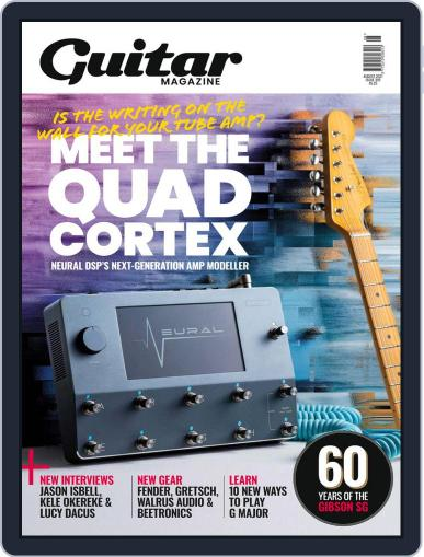 Guitar Magazine (Digital) August 1st, 2021 Issue Cover