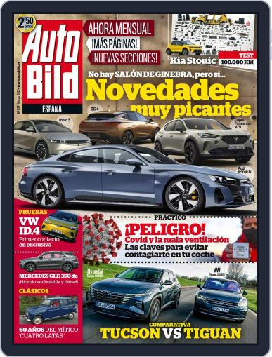 Auto Bild España Magazine (Digital) March 1st, 2021 Issue Cover