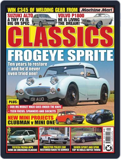 Classics Monthly Magazine (Digital) January 1st, 2021 Issue Cover