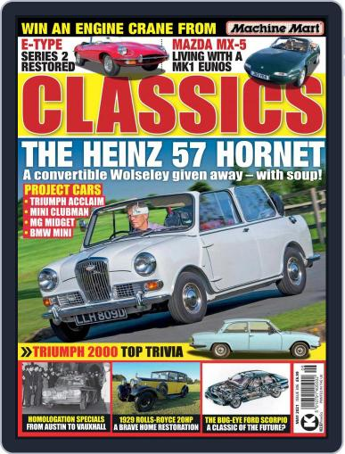 Classics Monthly Magazine (Digital) May 1st, 2021 Issue Cover