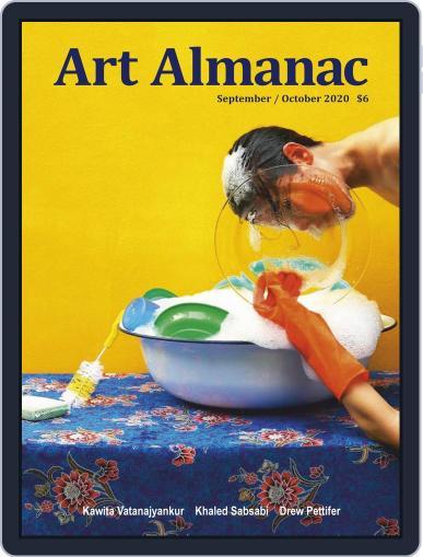 Art Almanac Magazine (Digital) September 1st, 2020 Issue Cover