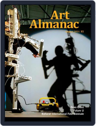 Art Almanac Magazine (Digital) August 1st, 2021 Issue Cover
