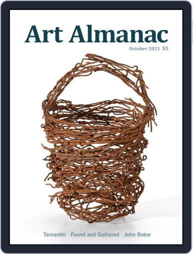 Art Almanac Magazine (Digital) October 1st, 2021 Issue Cover