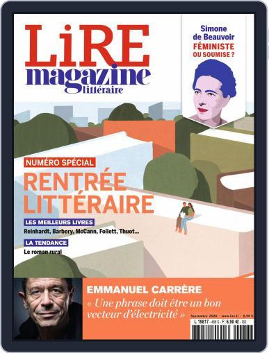 Lire Magazine (Digital) September 1st, 2020 Issue Cover