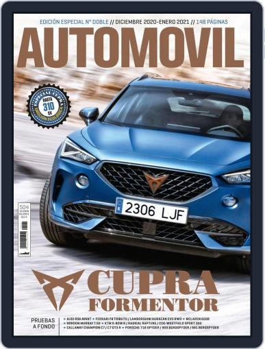Automovil Magazine (Digital) December 1st, 2020 Issue Cover