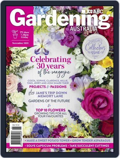 Gardening Australia Magazine (Digital) November 1st, 2021 Issue Cover