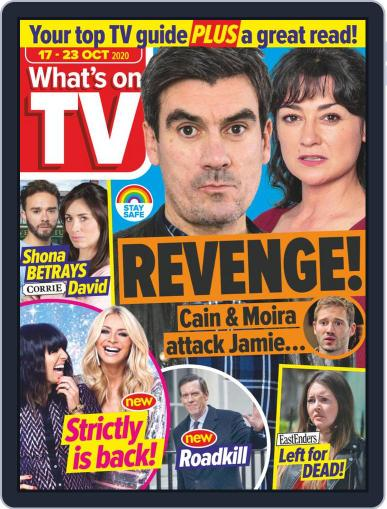 What's on TV Magazine (Digital) October 17th, 2020 Issue Cover