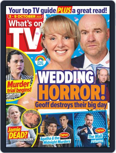 What's on TV Magazine (Digital) October 3rd, 2020 Issue Cover
