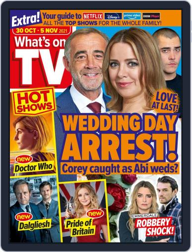 What's on TV Magazine (Digital) October 30th, 2021 Issue Cover