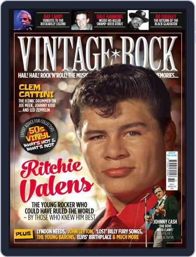 Vintage Rock Magazine (Digital) June 1st, 2021 Issue Cover