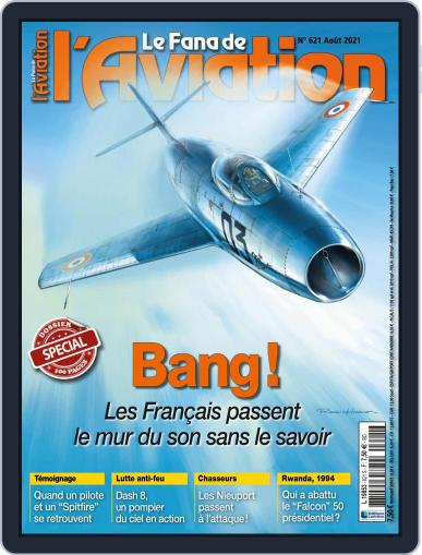 Le Fana De L'aviation Magazine (Digital) August 1st, 2021 Issue Cover