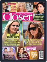 Closer Magazine (Digital) Subscription October 16th, 2021 Issue