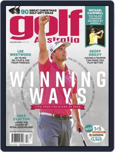 Golf Australia Magazine (Digital) December 1st, 2020 Issue Cover