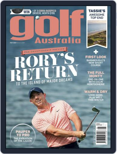 Golf Australia Magazine (Digital) May 1st, 2021 Issue Cover