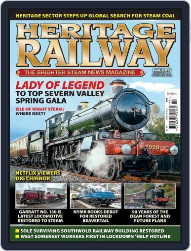 Heritage Railway Magazine (Digital) February 19th, 2021 Issue Cover
