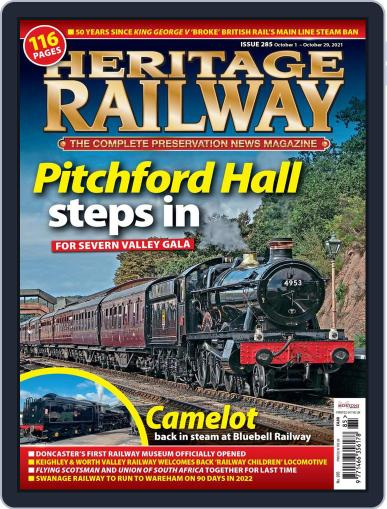Heritage Railway Magazine (Digital) October 1st, 2021 Issue Cover
