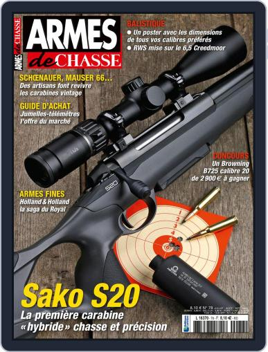 Armes De Chasse Magazine (Digital) July 1st, 2020 Issue Cover
