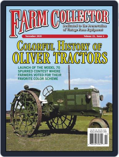 Farm Collector Magazine (Digital) November 1st, 2020 Issue Cover