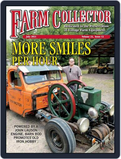 Farm Collector Magazine (Digital) July 1st, 2021 Issue Cover