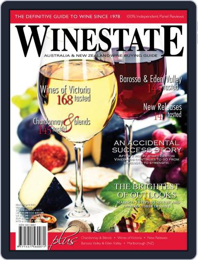 Winestate Magazine (Digital) March 1st, 2021 Issue Cover
