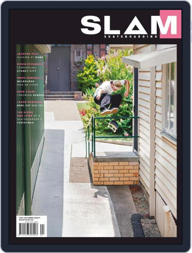 Slam Skateboarding Magazine (Digital) February 1st, 2021 Issue Cover