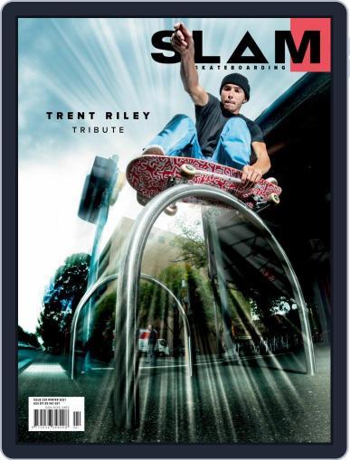 Slam Skateboarding Magazine (Digital) June 1st, 2021 Issue Cover