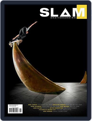 Slam Skateboarding Magazine (Digital) March 1st, 2021 Issue Cover
