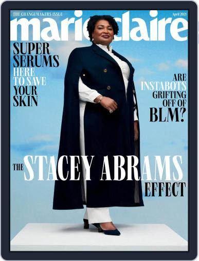 Marie Claire Magazine (Digital) April 1st, 2021 Issue Cover