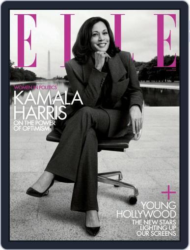 Elle Magazine (Digital) November 1st, 2020 Issue Cover